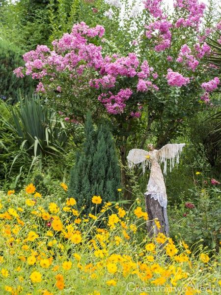 Jardin en périgord proche de Sarlat